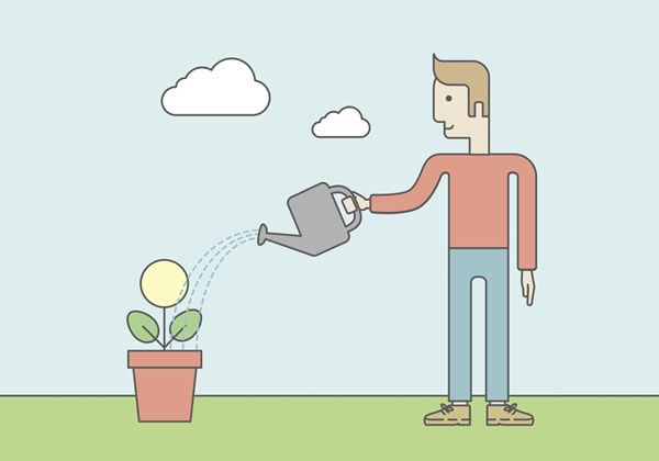 植物を育てる